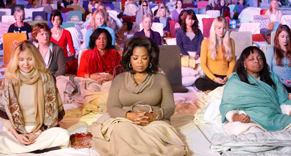 How Oprah Handles Stress