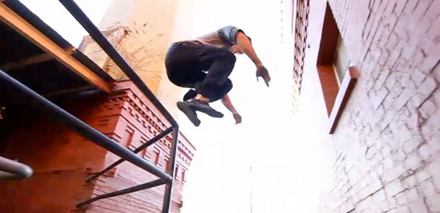 Parkour: A New Kind of Movement Meditation?
