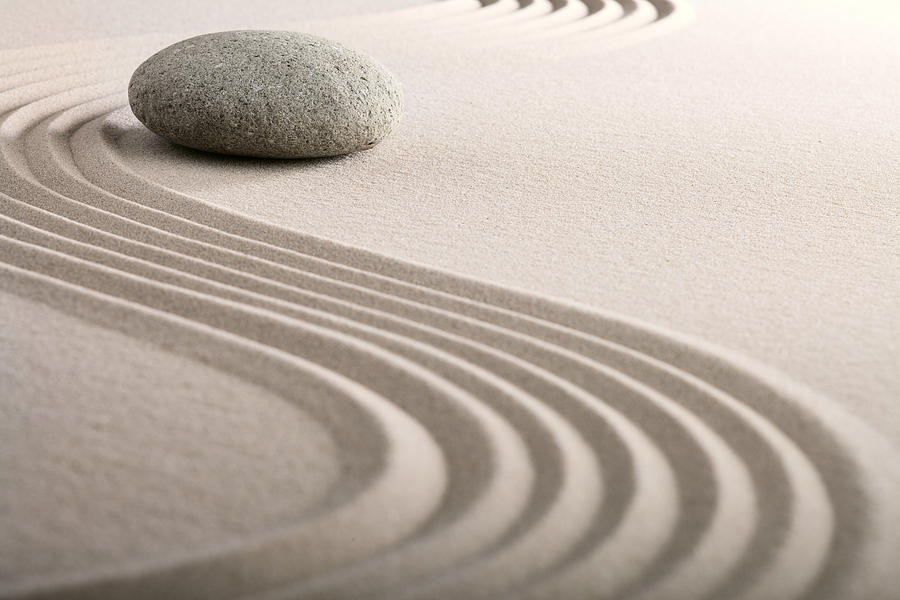 Zazen 12 rules for a mindfulness lifestyle about meditation for Arena jardin zen