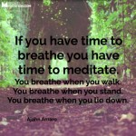 If You Have Time to Breathe…