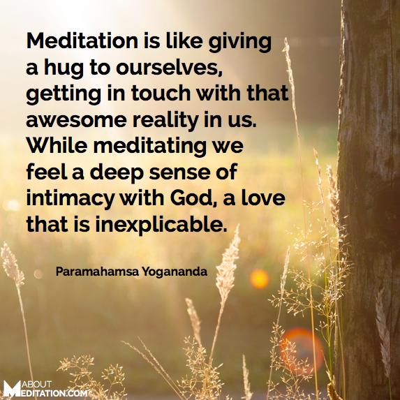 Meditation quotes - Paramahamsa Yogananda
