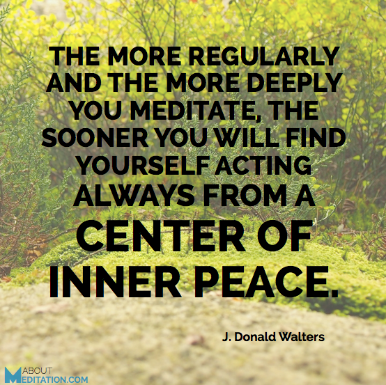 Meditation quotes - inner peace