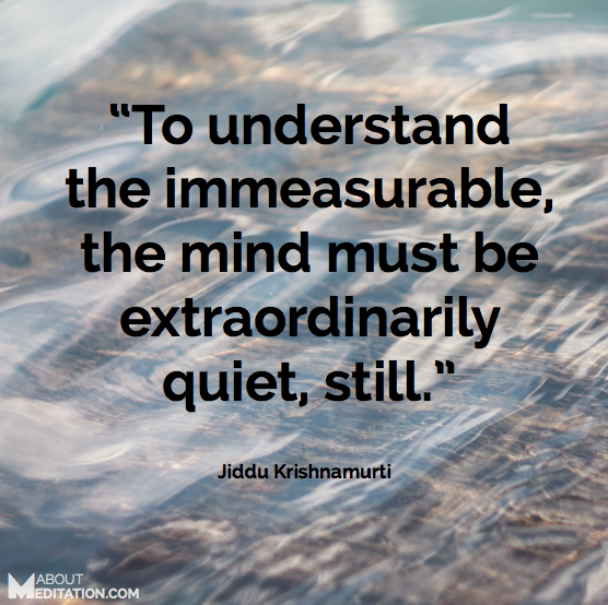 mindfulness Quotes - Krishnamurti