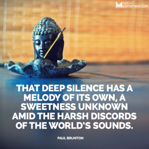 Meditation Quotes - silence