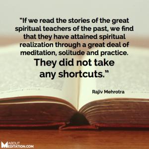 Meditation quotes - spiritual master