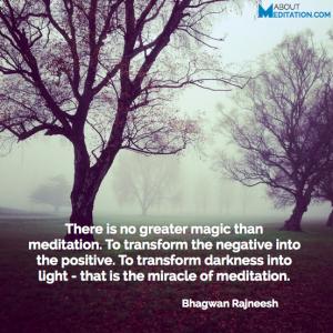 Meditation quotes - transformation