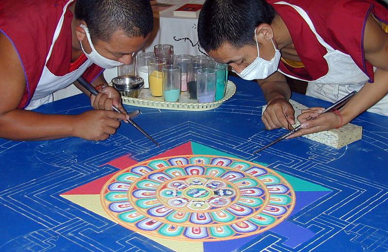 meditation mandala tibet