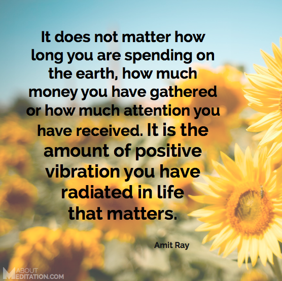 Positive Spiritual Energy Quotes: Meditation Quotes