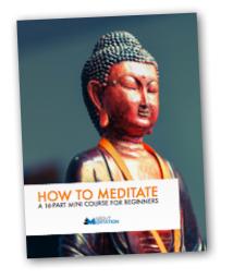 How to Meditate free ebook bonus