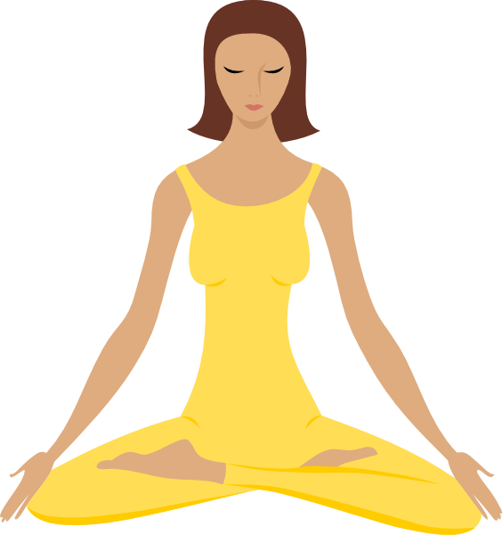 Learn meditation online - woman meditating