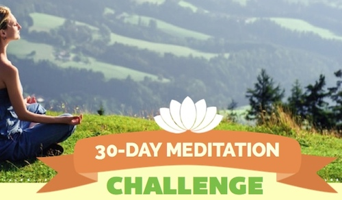 30 day challenge - About Meditation