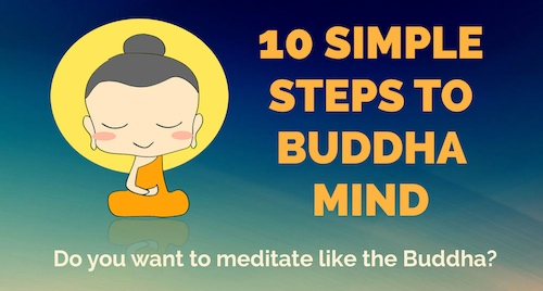 Do you want to meditate like the Buddha