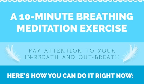 Meditation breathing exercise
