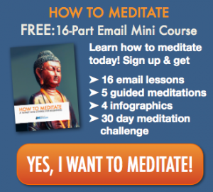 Yes I want to meditate!