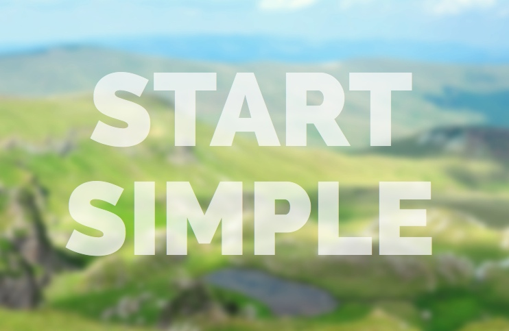 Start Simple Meditation