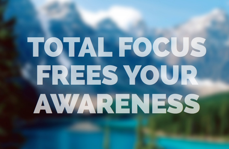 Total focus awareness