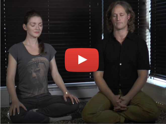 [Video] Interview & Guided Meditation on WholeU.TV