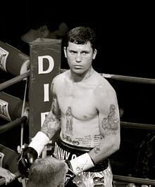 Danny Oconnor boxing fight