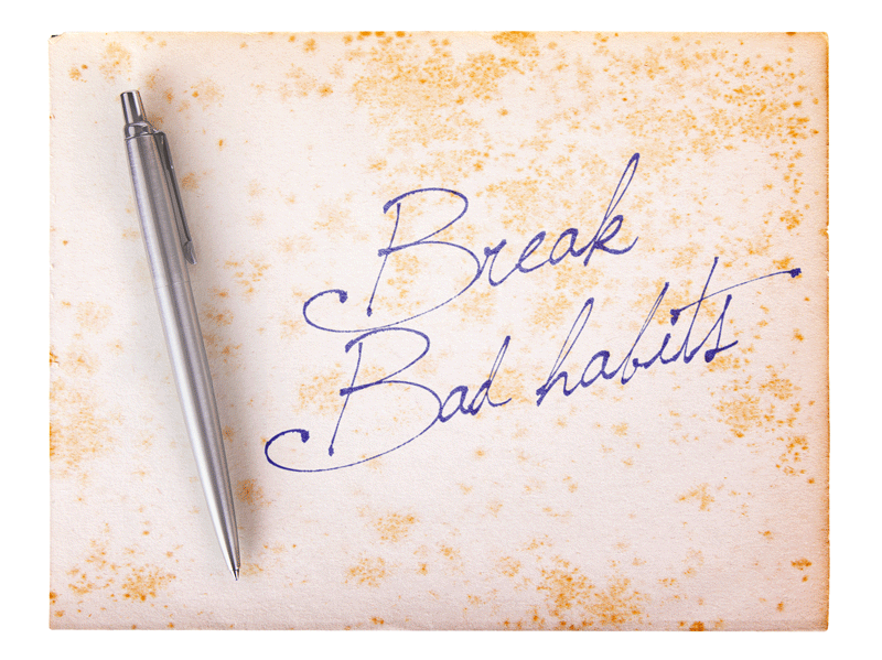 The Joy of Breaking Bad Habits